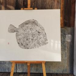 Gyotaku Turbot