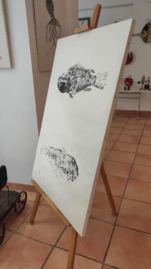 gyotaku tecnica
