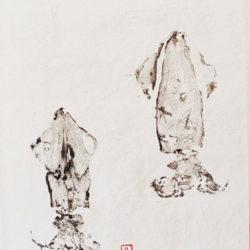 gyotaku calamar